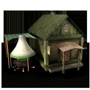 Здание Хижина зельеварения в игре Сказа
