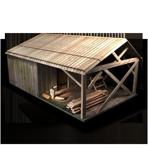 Здание Лесопильня в игре Сказа