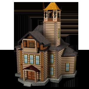 Городское здание Ратуша в игре Сказа. vskaze.ru